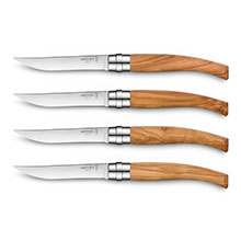 Opinel Olivewood Handle Steak Knife Set