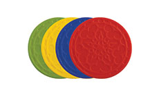 Le Creuset 4-piece Silicone French Coaster Sets