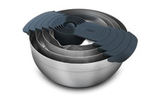 Joseph Joseph 100 Collection Nest Stainless Steel Mixing Bowl & Nylon Measuring Cup Set