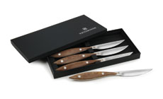 Victorinox Forschner Daniel Humm Micarta Handle Steak Knife Set