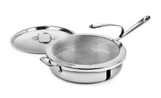 All-Clad Stainless Saute Pan & Splatter Screen