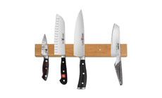 Cutlery and More Cherry Wood Magnetic Knife Holders