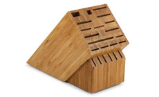 Cutlery and More 22-slot Bamboo Knife Block
