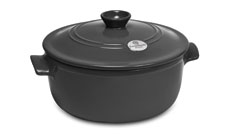 Emile Henry Flame 5½-quart Round Stew Pots