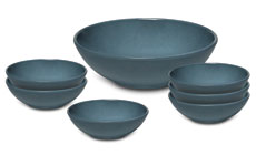 Emile Henry HR 7-piece Salad Bowl Sets