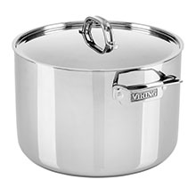 Viking Tri-Ply Stainless Steel Stock Pot