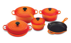 Le Creuset Signature Cast Iron 9-piece Cookware Sets
