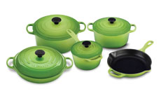 Le Creuset Signature Cast Iron 9-piece Cookware Set