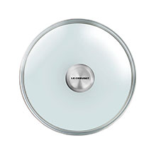Le Creuset Tempered Glass Lids with Stainless Steel Knob