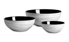 Le Creuset Stoneware 3-piece Multi Bowl Set