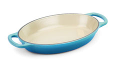 Le Creuset Signature Cast Iron 3-quart Oval Au Gratins