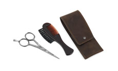 Dovo Moustache & Beard Grooming Set