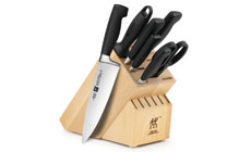 Zwilling J.A. Henckels Four Star Knife Block Set