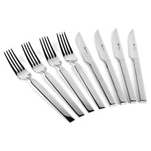 Wusthof Stainless Steel Steak Knife & Fork Set