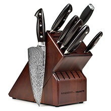 Zwilling J.A. Henckels Bob Kramer Stainless Damascus Knife Block Set