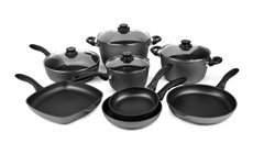 Swiss Diamond Nonstick Induction Cookware Set