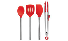 Tovolo 4-piece Essentials Silicone Utensil Sets