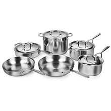 Demeyere 5-Ply Plus Stainless Steel Cookware Set