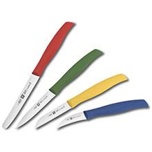 Zwilling J.A. Henckels Paring Knife Set with Colored Handles
