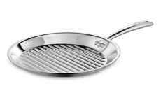 Lagostina Round Stainless Steel Grill Pan