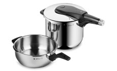 WMF Perfect Pro 6.5 & 3-quart Pressure Cooker Combo