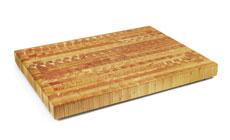 Larch Wood End Grain Cutting Board