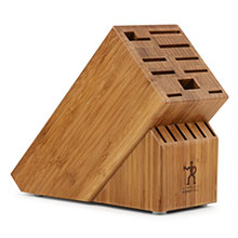 Henckels International Bamboo Knife Block