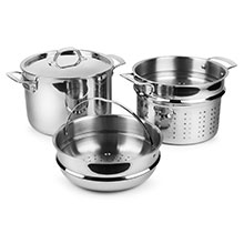 Viking Tri-Ply Stainless Steel Multi Pot