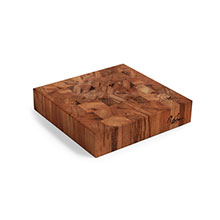 Cotton and Dust The Kristen End Grain Tigerwood Cheese Board