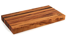 Cotton and Dust The Clifford Tigerwood Cutting Board