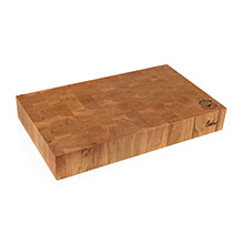 Cotton and Dust The Andrew End Grain Cherry Wood Cutting Board