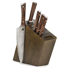 Shun Kanso Knife Block Set