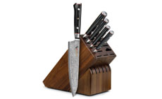 Mcusta Zanmai Classic 6-piece Knife Block Set