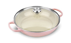 Le Creuset Signature Cast Iron 3½-quart Buffet Casseroles with Glass Lid