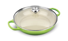 Le Creuset Signature Cast Iron 3½-quart Buffet Casserole with Glass Lid