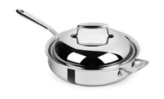 All-Clad d7 Stainless Steel Saute Pan with Domed Lid