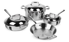 All-Clad d7 Stainless Steel Cookware Set