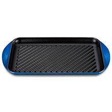 Le Creuset Cast Iron 15¾ x 9-inch XL Double Burner Grill Pans