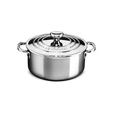 Le Creuset Stainless Steel Dutch Ovens