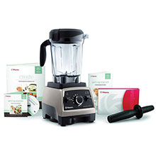 Vitamix Professional Series 750 Heritage Brushed Stainless Blender