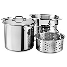 All-Clad Stainless Steel Multi-Function Stock Pots