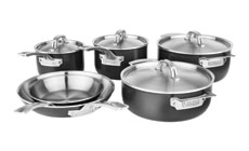 Viking Hard Stainless Cookware Set