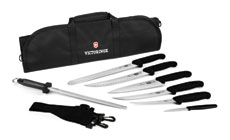 Victorinox Fibrox Ultimate BBQ Knife Roll Set