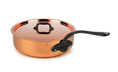 Mauviel M'heritage 150C2 Copper Saute Pan
