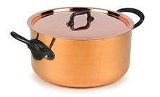 Mauviel M'heritage 150C2 Copper Stock Pot