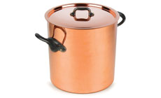 Mauviel M'heritage 150C2 Tin Lined Tall Copper Stockpot