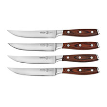 Messermeister Avanta Forged Steak Knife Sets with Pakkawood Handles