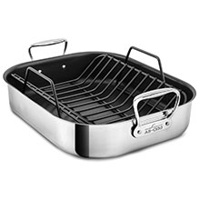 All-Clad Stainless Nonstick Roasting Pan with Rack