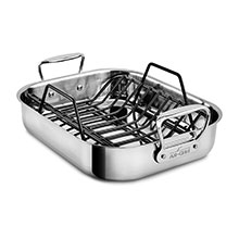 All-Clad Stainless Roasting Pan with Rack
