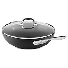All-Clad HA1 Nonstick Chef's Pan with Glass Lid